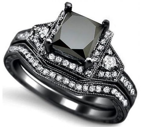 aa75bc5315d682 Black Diamond Engagement Rings Zales 34