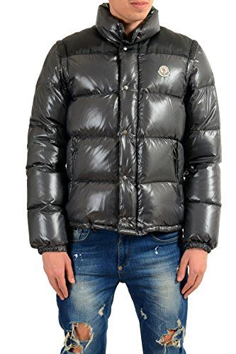 2099b0f93 Moncler Men's Andersen Down Parka with Detachable Sleeves Sz 3 US M ...