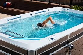 Ryan Lochte S Secret Weapon For Training During Celebrity Big Brother Is An Endless Pools Endless Pool Hot Tub Delivery Pool