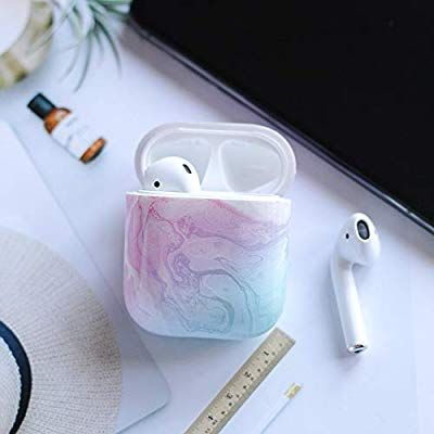 Amazon Com Mk Marble Airpods Case Accessories Shockproof