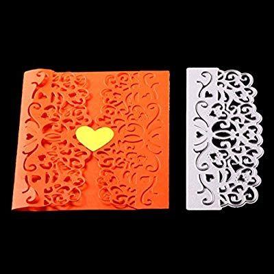 Vintage Flower Embossing Stencil DIY Scrapbooking Paper Festival Card Making Mold Craft Decor Gift Metal Cutting Dies