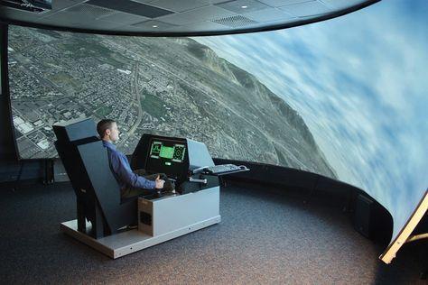 Study Virtual Training Can Save Billions Flight Simulator