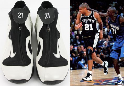 nike basketball shoes history
