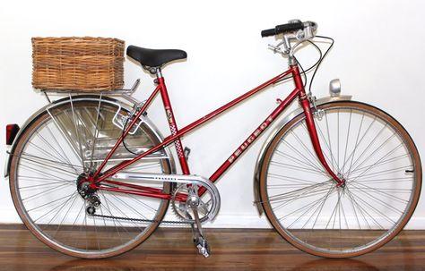 Vintage Peugeot restored by Sydney Vintage Bikes.