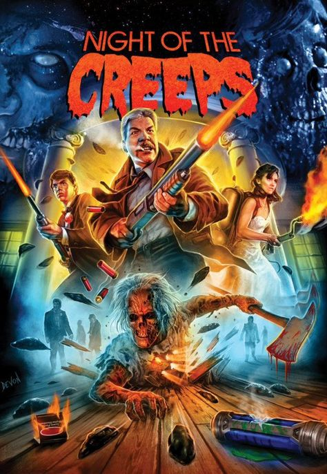 NIGHT OF THE CREEPS (1986) Reviews and recommended - MOVIES and MANIA