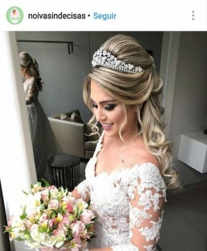 Wedding Hairstyles With Veil Half Up Guest Books 20 Ideas Bride