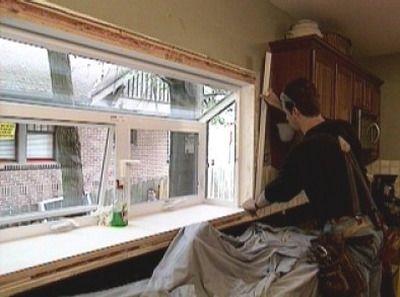 How To Install A Garden Window Kitchen