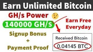 New Free Bitcoin Cloud Mining Site 2019 Unlimited Refer Trick