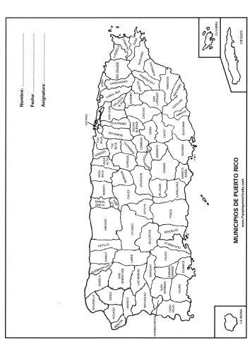 Mapa Politico De Puerto Rico Puertoricovacation Puerto Rico Tattoo Puerto Rico Vacation Puerto Rico