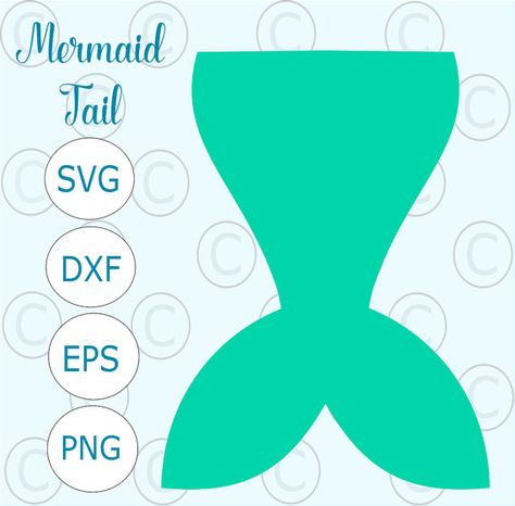 mermaid tail template for invitation - Google Search Matthew and