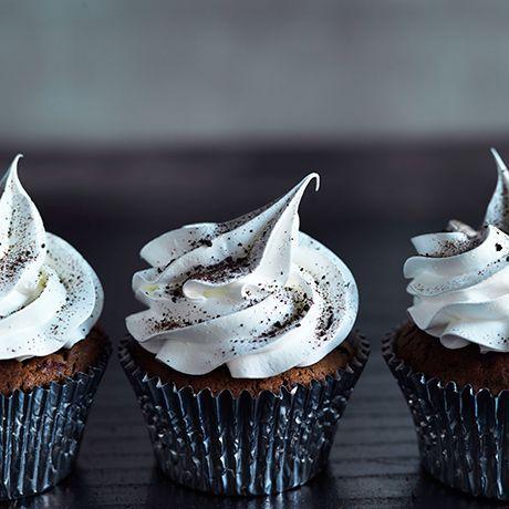 Cupcakes med lakrids - oh my god !!