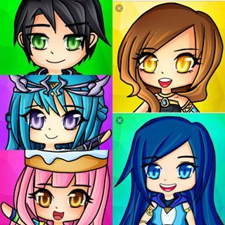 Funniest Roblox Youtubers My Absolutely Favourite Youtubers Cute Youtubers Cute Emoji Wallpaper Fan Art Drawing