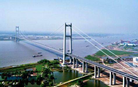 Xihoumen Bridge Jintang Island China