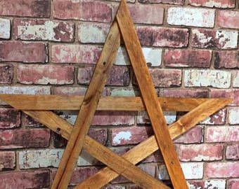 Tip Top Piece Ornamental Gold Starburst