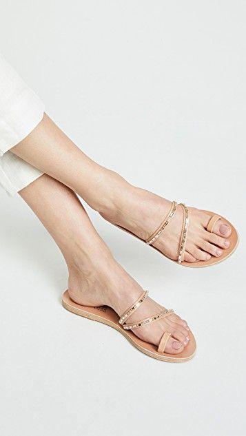 3d90758dc08e2 Apli Katia Diamonds Slides in 2019 | I can has? | Greek sandals ...
