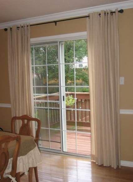 Best Sliding Glass Door Curtains Double 55 Ideas Door In 2019