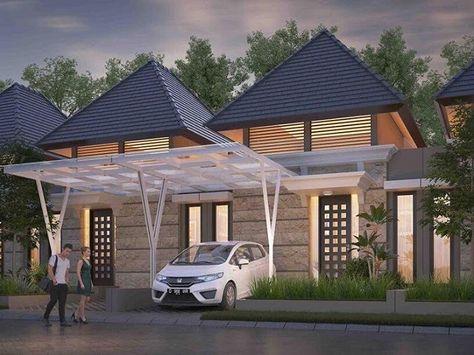 desain rumah mewah 1 lantai (dengan gambar)   rumah mewah