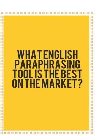 Cambridge Academic English Top Tip For Paraphrasing Paraphrase Marketing Good Things Best Program