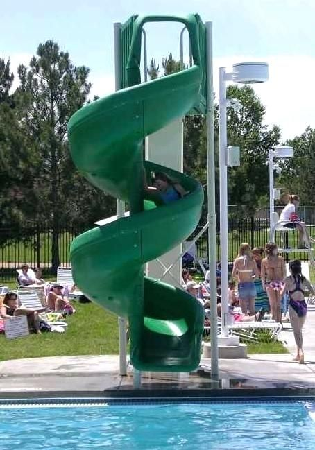 Wohn Pool Rutschen Dekoration Ideen Pool Rutsche Gartenpools Pool Wasserfall