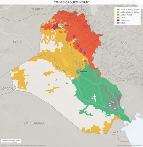 Ethnic Groups in Iraq | Historical maps, Map, Country maps