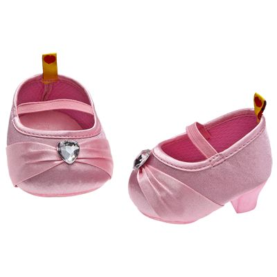 Build A Bear Clothes Shoes Red Shiny Patent Mary Jane Shoes-NEW