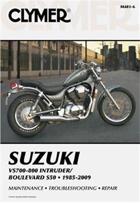 Clymer Repair Manual Suzuki Vs700 Vs750 Vs800 And Vs800 S50 1985 2009 M481 6 Clymer Suzuki Motorcycle Repair