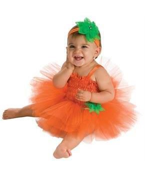 48ffe3e83dc Pumpkin Baby Tutu Costume Infant | Infant and Toddler Costumes For ...