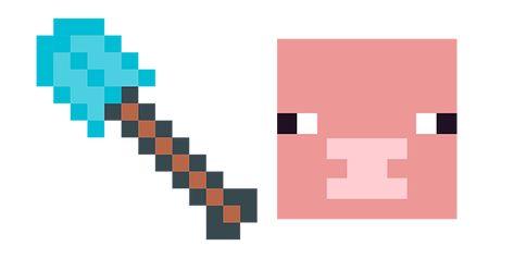 Minecraft Diamond Shovel Pig Minecraft Pig Minecraft Custom