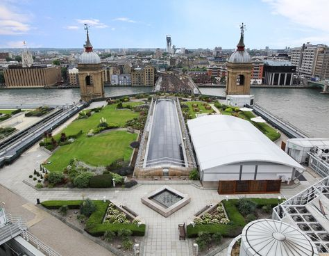 Cannon Bridge Roof Gardens Award Winning Glass Event Venue Set Within An Acre Of Garden With Breathtaking Views Over London