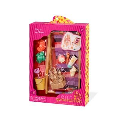 Our Generation Day At The Beach Accessory Set For 18 Dolls American Girl Doll Sets Our Generation Our Generation Dolls