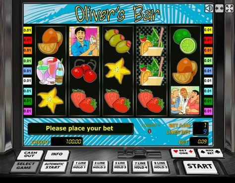 игровой автомат бар оливера