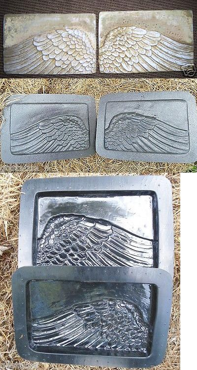 Slip Casting Molds And Kits 83898 Angel Wings Plastic Mold Plastic Concrete Plaster Mould Buy It Now Only 21 95 Plaster Molds Plastic Molds Casting Mould