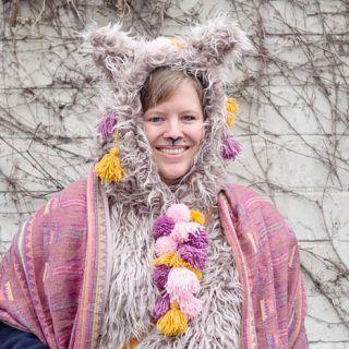 Lama Oder Alpaka Kostum Zu Karneval Selber Machen Bommel Machen