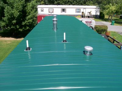 Mobile Home Roof Over Re Building Peaked On Trailers House Metal And Remodeling Ideas