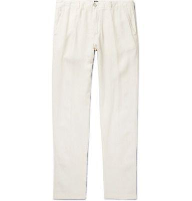 hugo boss linen pants
