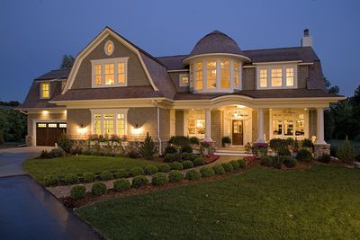 Plan 20095ga Spectacular Home For The Large Family Victorian House Plans Luxury House Plans Shingle Style Homes