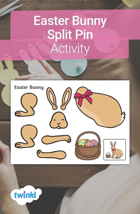Bring some Easter atmosphere to your home with this lovely spring-themed craft activity! Simply print out the template, cut out and stick together to create a lovely Easter decoration. Click to head over to Twinkl and discover our Easter-themed arts and crafts!  #easter #bunny #eastercraft #spring #cutout #springcraft #twinkl #twinklresources #easterdecorations #activity #homelearning #home #parents #craftsforkids #papercraft #homeeducation #homeed #parenting #teachingresources