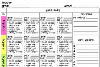 My Literacy Block Schedule  Literacy Teacher And Blog