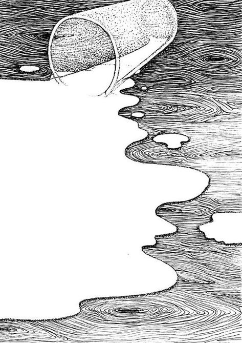 40 Surprisingly Genius Negative Space Art Examples - Bored Art - Suprisigly Genius Negative Space Art Exampls Best Picture For diy home decor For Your Taste Y - Space Drawings, Art Drawings, Abstract Drawings, Cool Pencil Drawings, Abstract Art, Negative Space Art, Illusion Drawings, Stippling Art, Arte Sketchbook