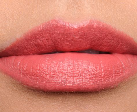 mac ginger rose lipstick swatch