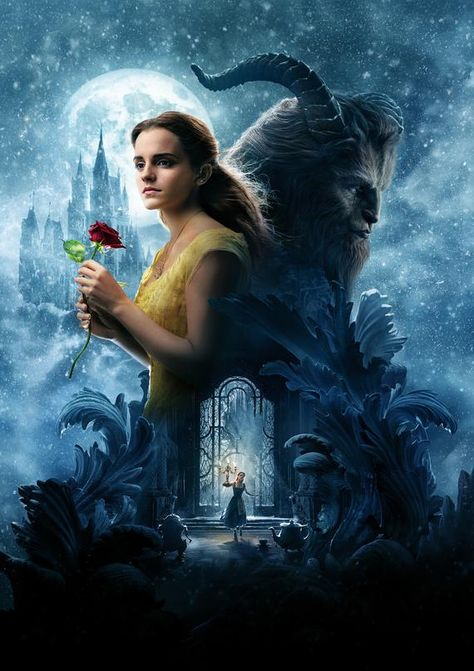 Beauty and the Beast Movie Artwork Poster