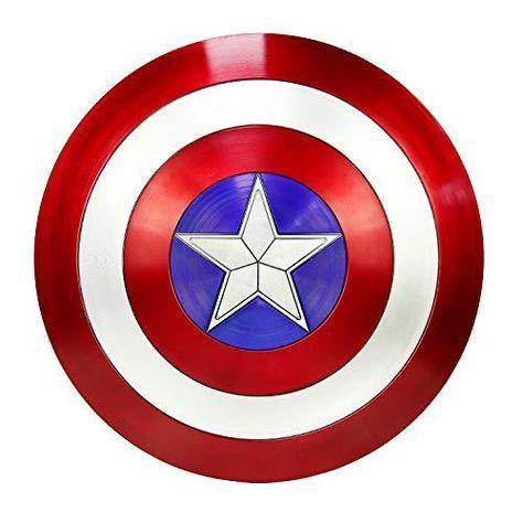DMAR Captain America Shield Marvel Legends Escudo del Capitan America for Adult Avengers capt A Shield - 22 Inch Abs Shield