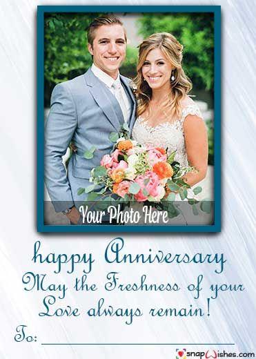 Wedding Anniversary Photo Frame Free Download In 2020 Wedding Anniversary Photos Anniversary Photos Photo Wedding Card