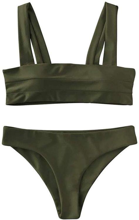 Top rated Amazon Bikinis offer comfort, great styles for a low price. These are some of the best bikinis on Amazon I could find! #bikini #bikiniswimwear #swimwear #bikiniphotos  #bathingsuit #bathingsuitforwomen #bathingsuitpictureideas #bathingsuittop #bandeau #polkadot #amazon #amazonmusthaves #amazonfinds #amazonfashion #cutebikinioutfits #cutebikini #highwaist