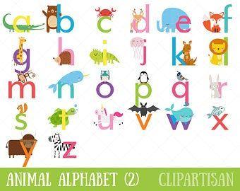 Safari Baby Animals Clipart Jungle Animals Clipart Zoo Animals Clipart In 2021 Safari Baby Animals Animal Letters Animal Alphabet