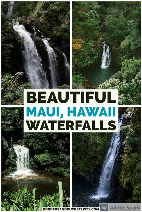 10 Best Maui Waterfalls that You Need to Visit