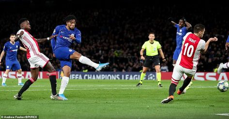 Chelsea 4-4 Ajax: Reece James seals incredible comeback
