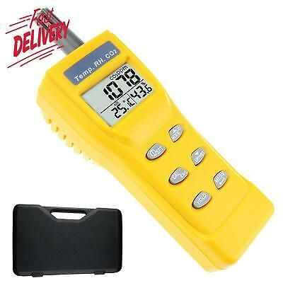 Sponsored Ebay Portable Digital Carbon Dioxide Temperature Humidity Indoor 9999ppm Ndir Sensor Wet Bulb Temperature Temperature And Humidity Humidity