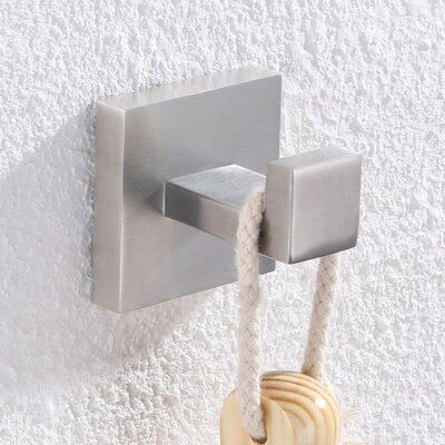 Anglesimple Bathroom Solid Metal Wall Mouted Towel Hook Finish Brushed Nickel Towel Hooks Metal Walls Bath Accessories