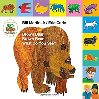 Amazon Com Lift The Tab Brown Bear Brown Bear What Do You See